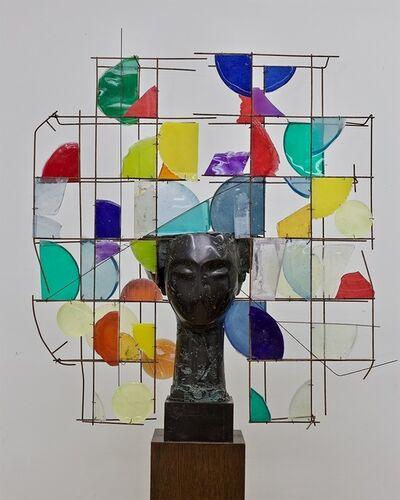 Manolo Valdés, 'Cabeza de Resina con Colores', 2019