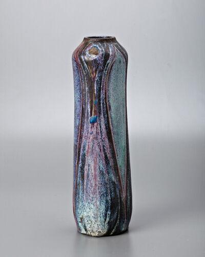Raoul Lachenal, 'Peacock Vase', 1904