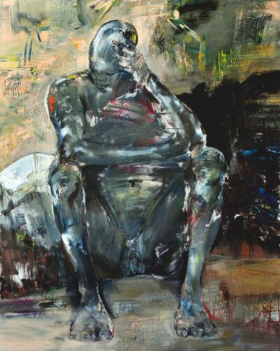 Franta, 'Homme assis'
