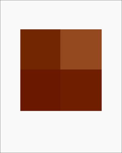 Stuart Allen, 'Rock No. 8, 4 Pixels', 2005