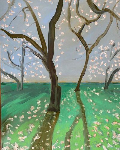 Claudia Doring Baez, 'Mark Seliger, Central Park, April 7, 2020, 7:35am', 2020