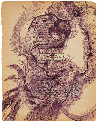 Solange Knopf, 'Spiritual Ink #3', 2011