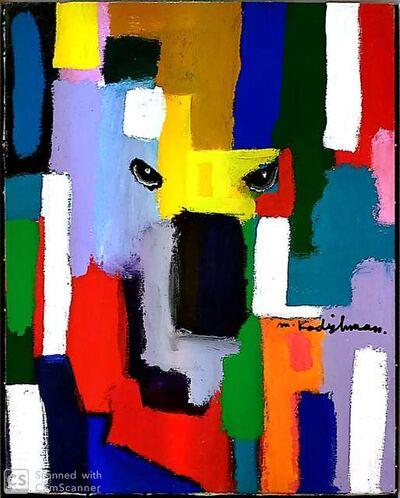 Menashe Kadishman, 'Sheep Head', 1980-2012