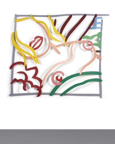 Tom Wesselmann, 'Bedroom Blonde Doodle (3-D)', 1984-1988