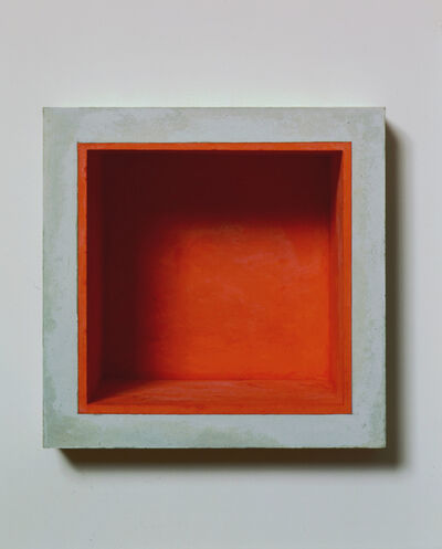 Jackie Winsor, 'Inset Wall Piece with Orange Interior'