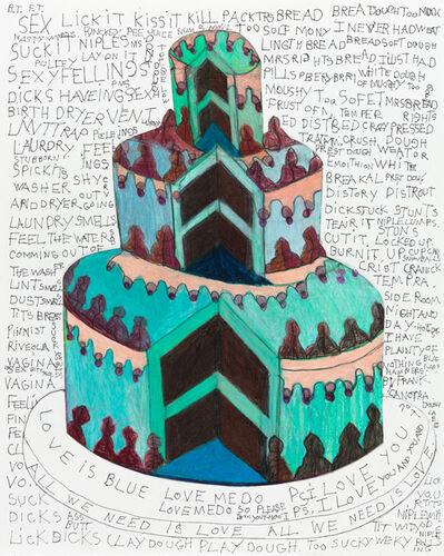 Camille Holvoet, 'Nasty Words Cake', 2016