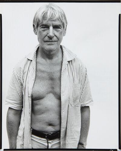 Richard Avedon, 'Willem de Kooning, painter, Springs, Long Island, August 18', 1969