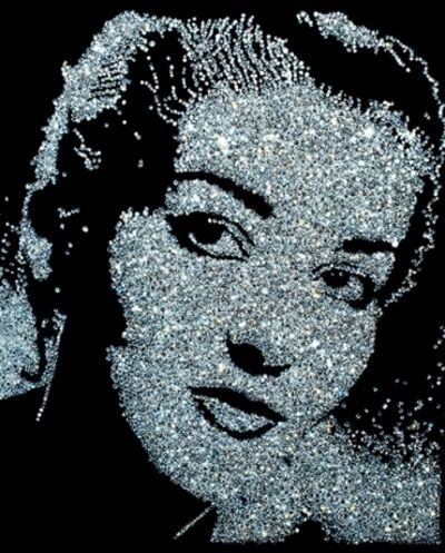 Vik Muniz, 'Maria Callas, from the Diamond Divas series', 2004