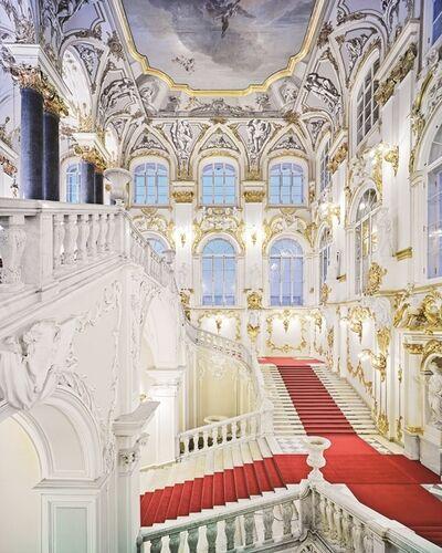 David Burdeny, 'Jordan Stairs 1, State Hermitage, St. Petersburg, Russia', 2015