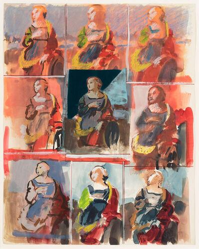 George Deem, 'The Saint (St. Catherine of Alexandria, Raphael)', 1965