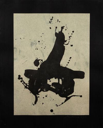 Robert Motherwell, 'Black on Black', 1978