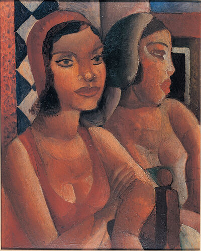 Cândido Portinari, 'Women at the Window', 1926