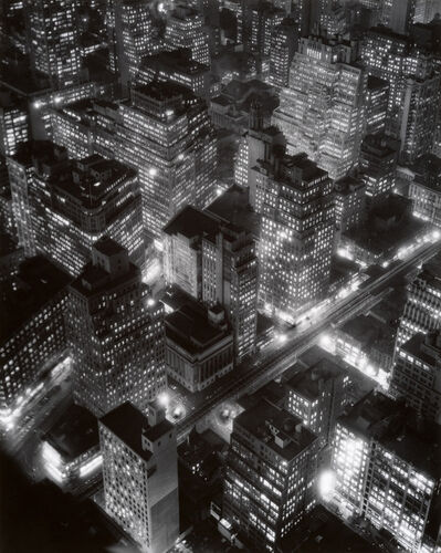Berenice Abbott, 'New York at Night', 1932
