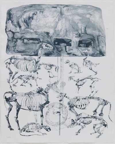 Qiu Zhijie, 'Capital : Waiting for the Naissance of the Dragon  ', 2008