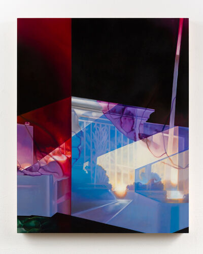 Patti Oleon, 'Red Night', 2020