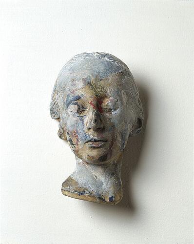 Arnulf Rainer, 'Masque mortuaire d'une femme inconnue', 1978-1979