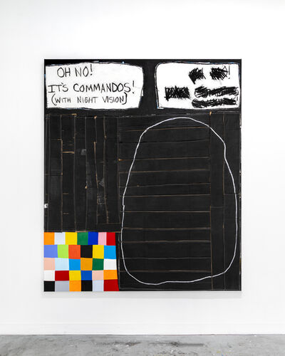 Taylor White (b. 1978), 'Oh No! It's Commandos!', 2019