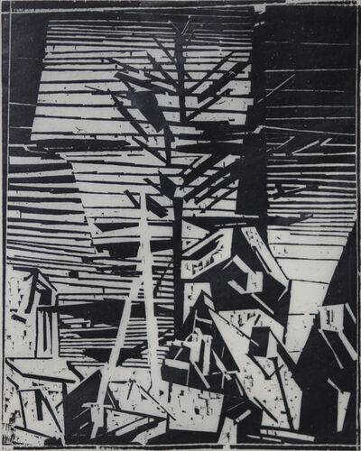 Lyonel Feininger, 'Townscape', 1915-1925