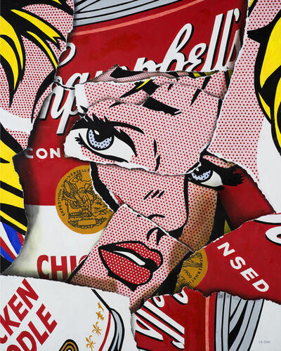 Cesar Santander, 'Soupcan Girl', 2020