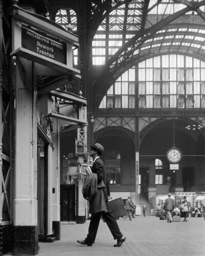 William Helburn, 'Ward Purdy in Penn Station', ca. 1960