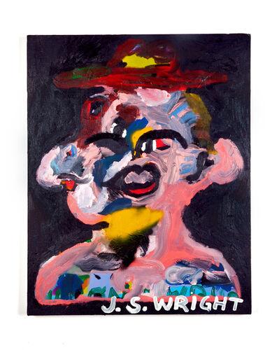 Jason S Wright, 'Figure Wearing Hat', 2018