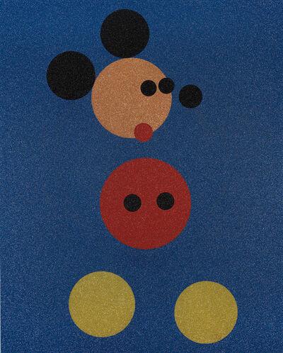 Damien Hirst, 'Mickey (Blue Glitter)', 2016