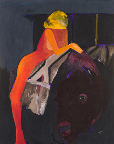 Fritz Scholder, 'Woman and Bull', 20th/21st Century