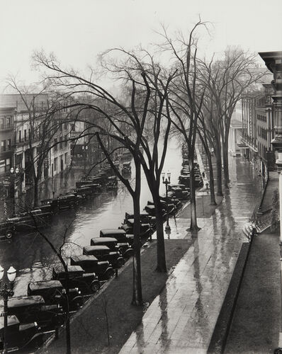 Walker Evans, 'Main Street, Saratoga Springs, New York', 1931-probably printed in the 1950s or 1960s
