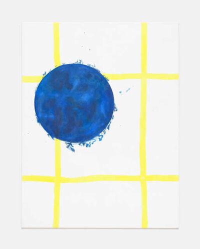 Christian Rothmaler, 'Blauer Sohn Zitrone', 2018