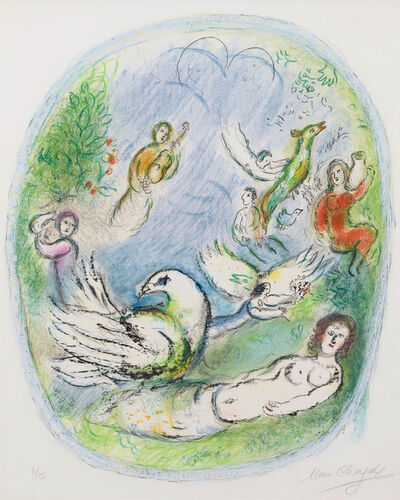 "Marc Chagall, 'L'Age d""or', 1968"