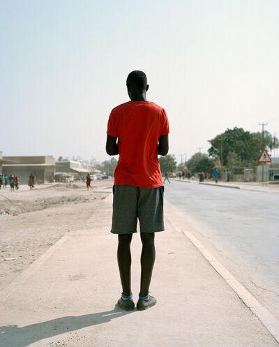 Francois Visser, 'Man in Street, Namibia', 2015