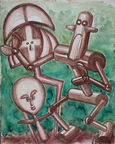 Hervé Di Rosa, 'ROBOT ET FÉTICHES', 2008