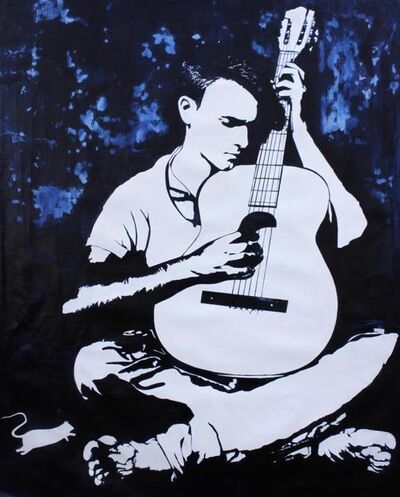 Blek le Rat, 'Guitarist'