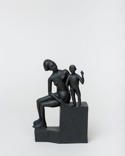Ann Agee, 'Flat Back Madonna', 2020