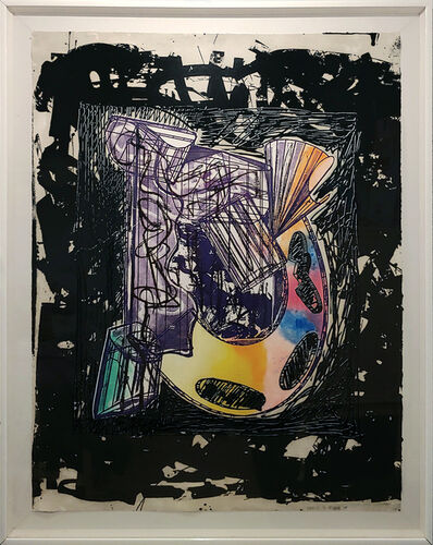 "Frank Stella, 'Italian Folktales ""Bene Come il Sale, State 1"", As Good as Salt 86x68"" small edition of only 9, 1989    ', 1989"