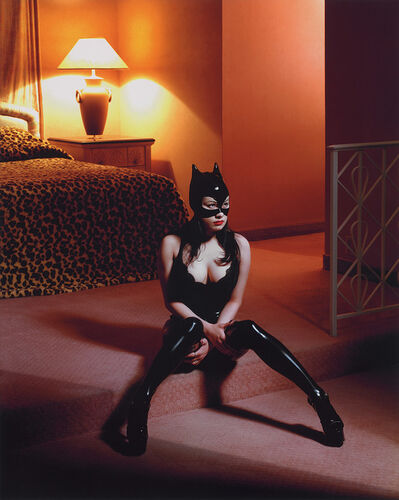 Albert Watson, 'Breaunna in Cat Mask, Las Vegas Hilton', 2001