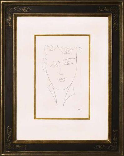 Henri Matisse, 'Jeune étudiante', 1952