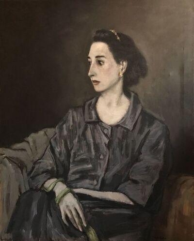 Alexander Brook, 'Woman in Gray'