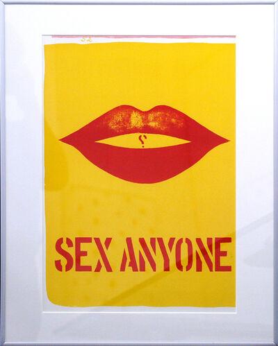 Robert Indiana, 'One Cent Life - Sex Anyone', 1963