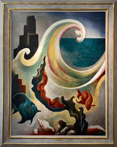 Thomas Hart Benton, 'Sea Phantasy', 1925-26