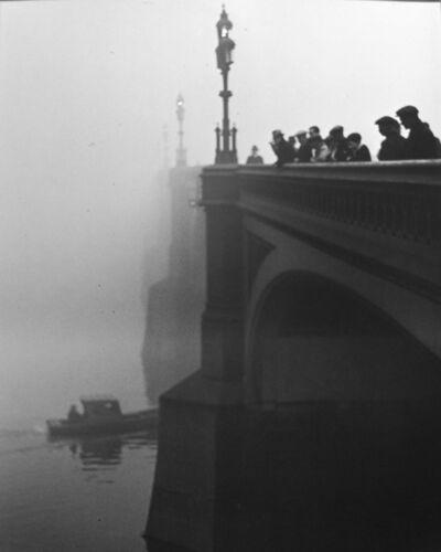 Wolfgang Suschitzky, 'London, Westminster Bridge', 1939