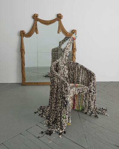 Lucy Dodd, 'Grandma Serpent', 2017