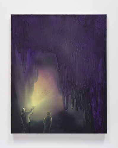 Tala Madani, 'Cave Interior (Limelight)', 2019
