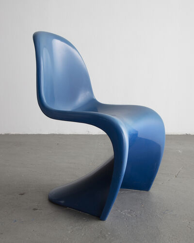 Herman Miller, 'Stacking Side Chair in Blue. ', 1973