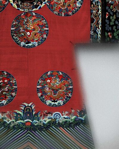 'Court Robe', 19th, century, Qing dynasty (1644–1911)