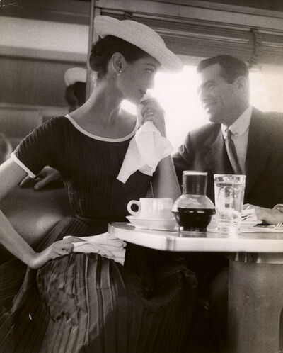 Lillian Bassman, 'Tea With Carmen', ca. 1950