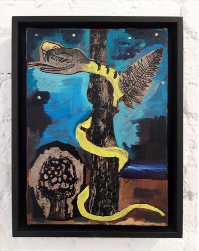 Damien Deroubaix, 'Quetzalcoatl', 2018