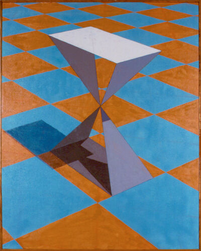 Ronald Davis, 'Checkerboard X Painting, Checkerboard Series', 1978