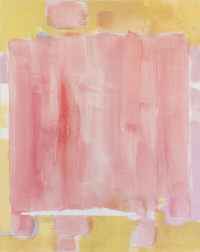 Carl Holty, 'Untitled (Rose, Yellow)', ca. 1971