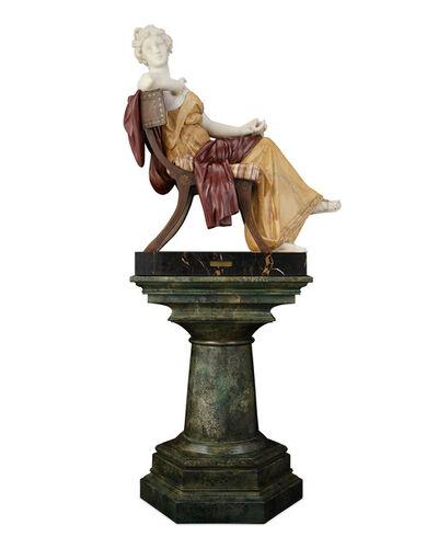 Ferdinando Vichi, 'Inspiration', ca. 1890